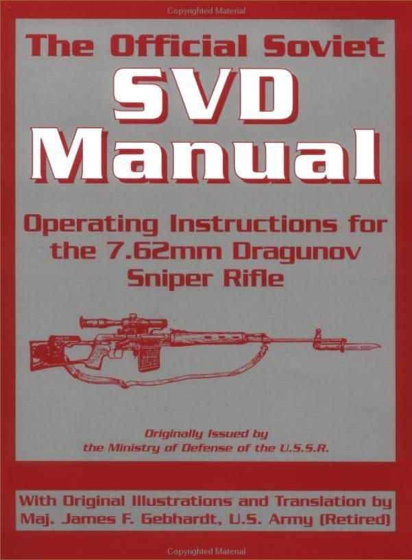 Official Soviet SVD Manual